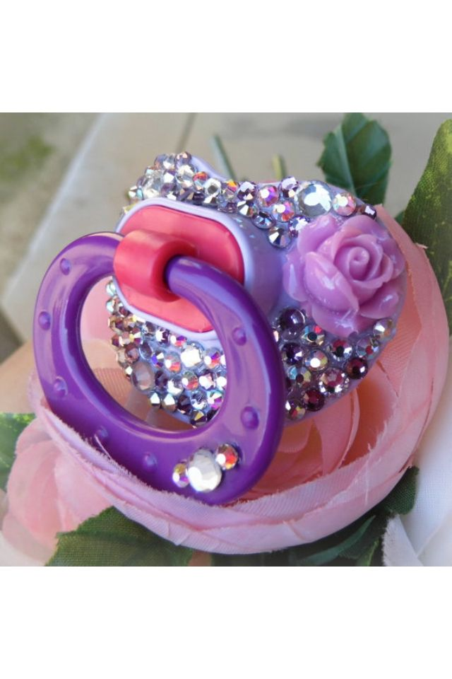 DIY Pacifier BLING Kids !! Pinterest Baby, Binky and Baby bling