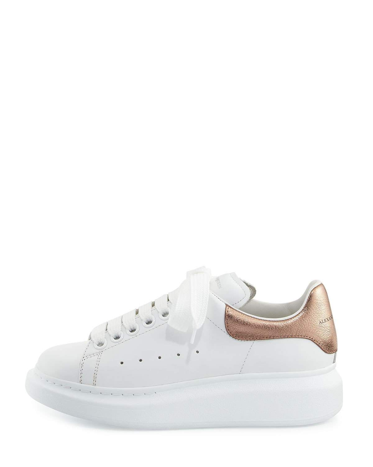 Alexander McQueen Leather Lace-Up