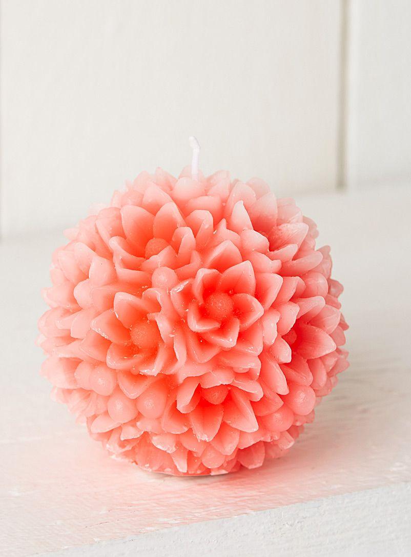Exclusivité Simons Maison - Un magnifique bouquet pour décorer la table de Pâques - Cire de paraffine - 10 cm de diamètre