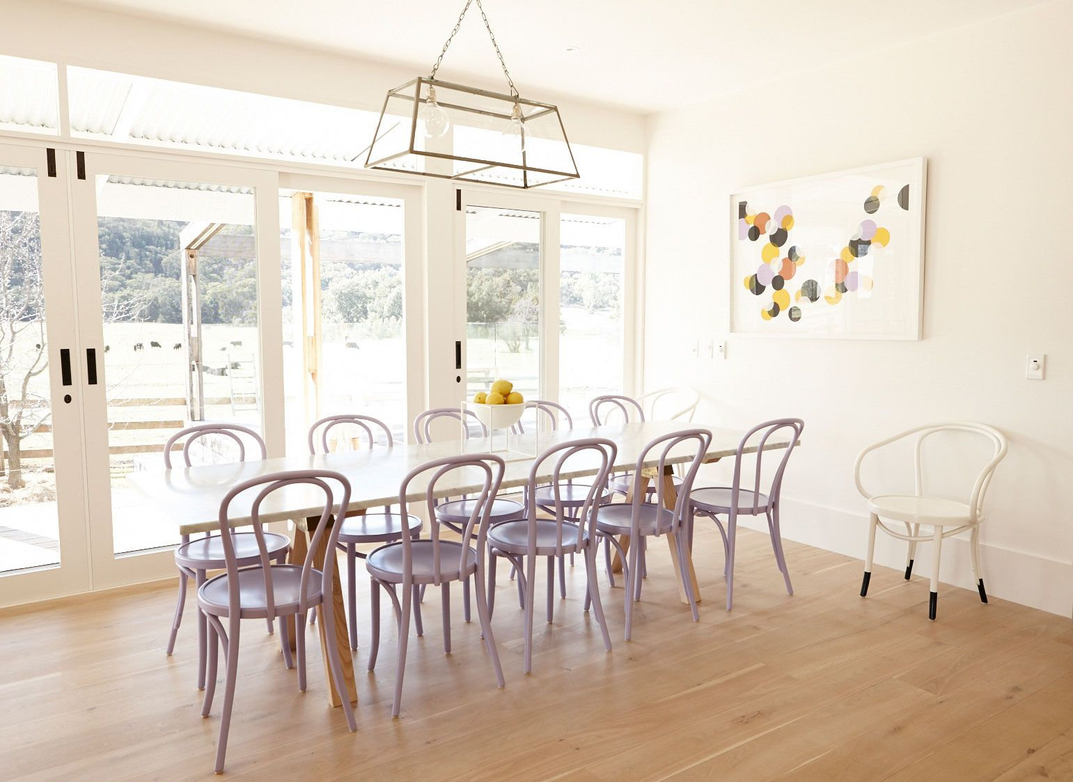 Bentwood chairs and table - Interiors