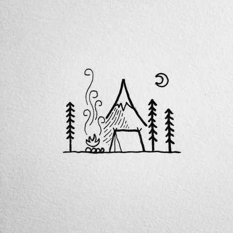 The Best Of Bushcraft And Survival Http Www Retroj Am Matching Tattoos Easy Drawings Sketch Book Doodle Drawings