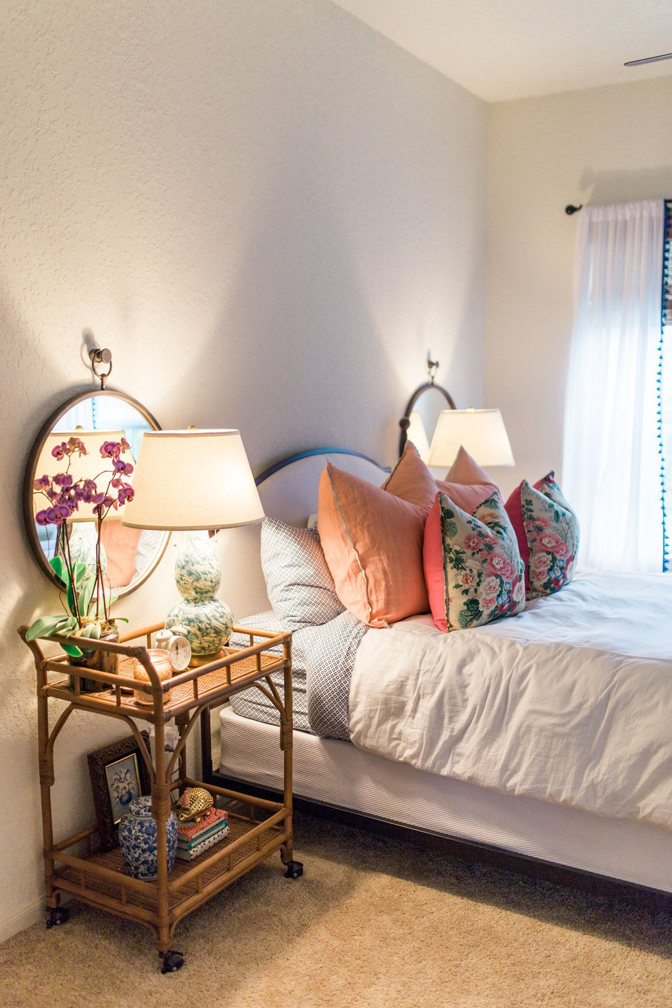 Master bedroom curtains  guest bedroom idea  Room Decor  Pinterest  Bedrooms Room and