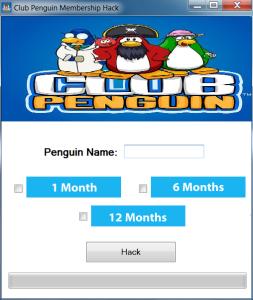 Club Penguin Membership Generator 12222 Working