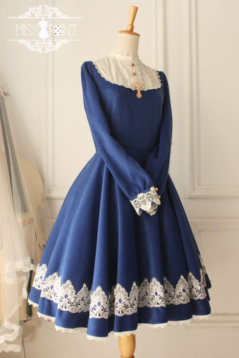 e758033446d900 Miss Point -The Castle Girl- Vintage Gothic Lolita OP Dress in 2019 ...