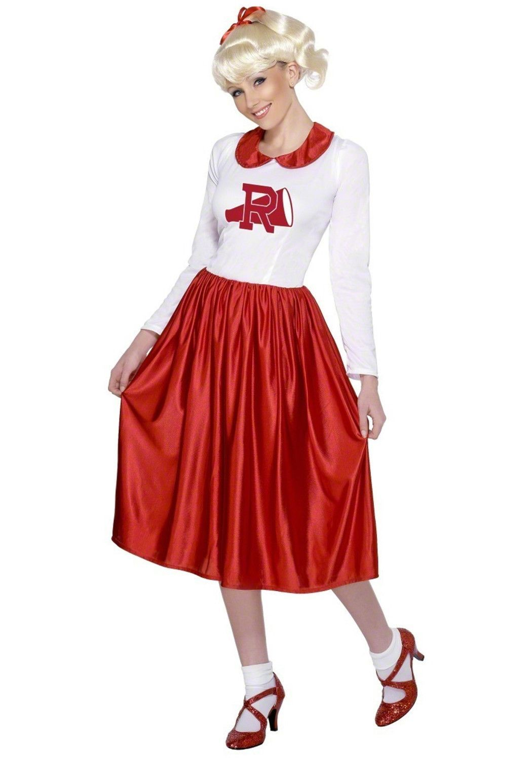 b7a3145ba548 Teen Rydell High Grease Cheerleader Costume