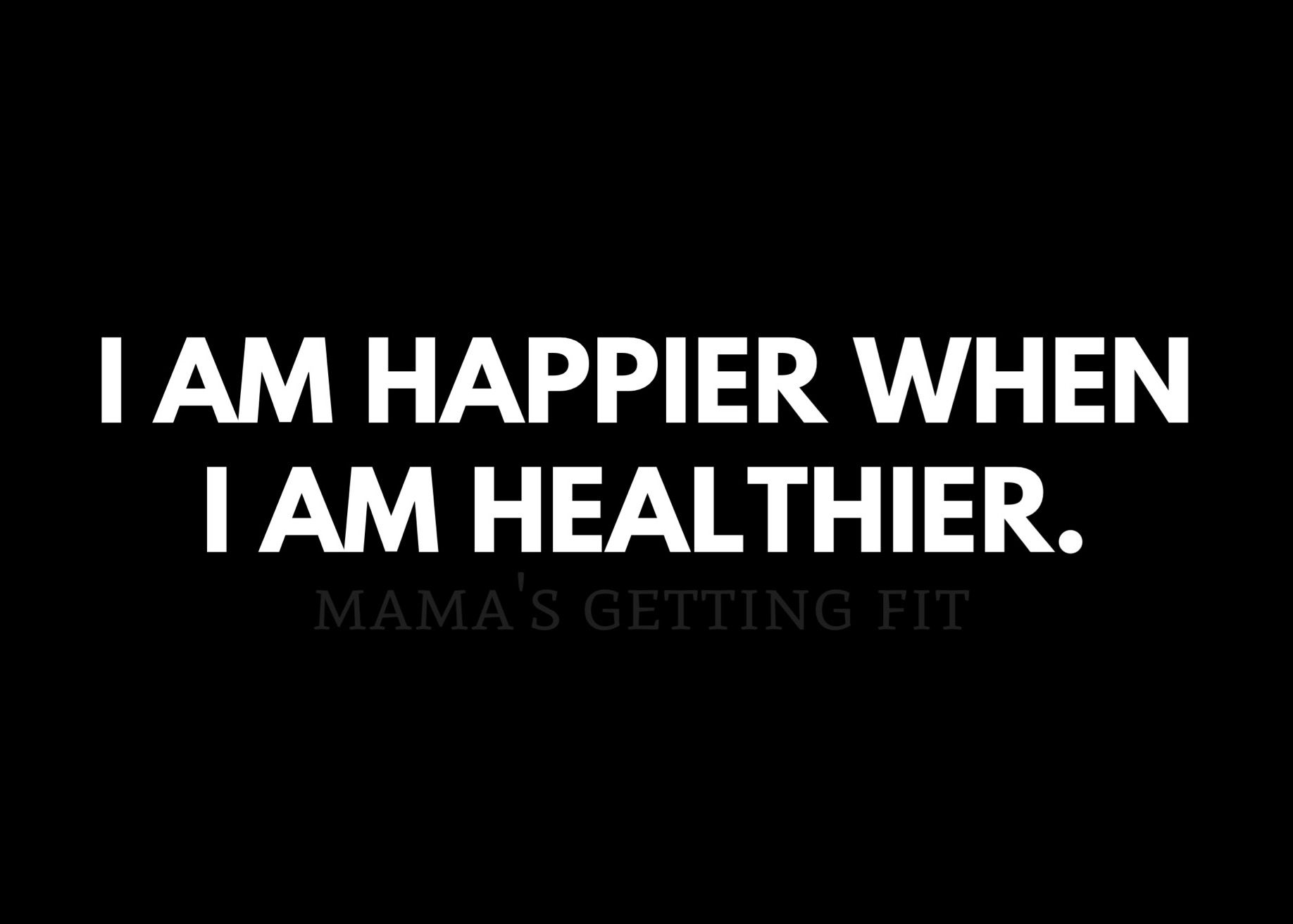 #Day72 I am happier when I am healthier. Never forget.