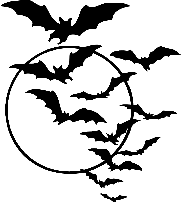 Pin By Ladybug P On Vintage Halloween Art In 2020 Halloween Bats Halloween Silhouettes Halloween Images