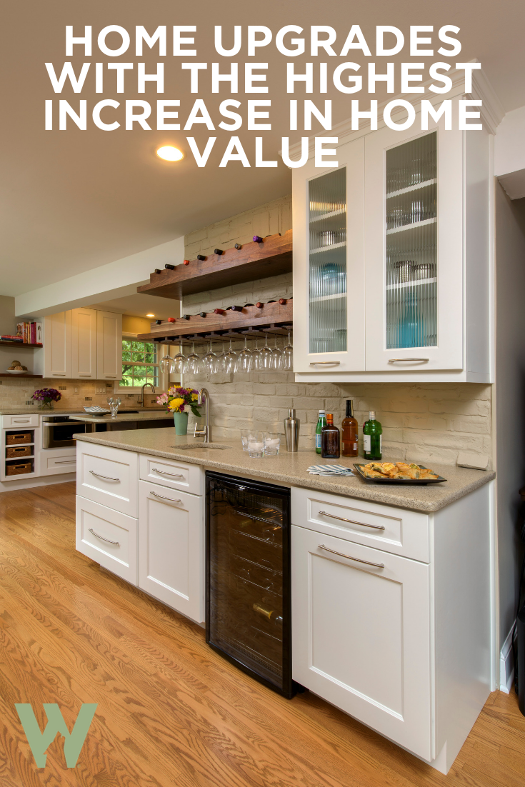 Home Upgrades With The Highest Increase In Home Value Home Upgrades Custom Bathroom Cabinets Quality Cabinets