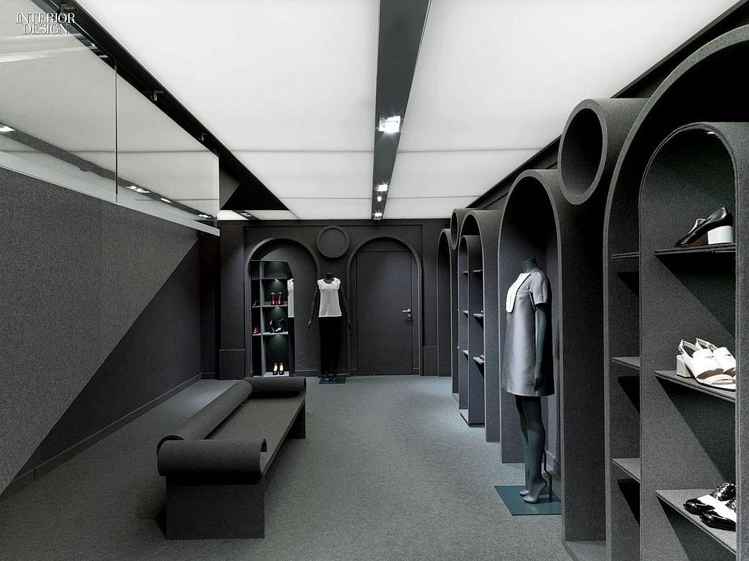 Gray Area: Viktor & Rolf's Paris Flagship by Architecture & Associés | Projects | Interior Design