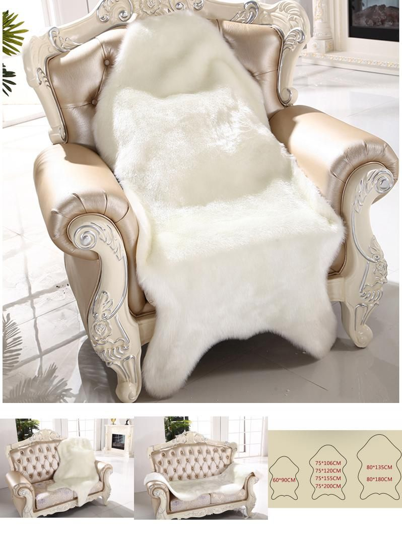 Strange Visit To Buy Artificial Sheepskin Fluffy Fur Chair Seat Pdpeps Interior Chair Design Pdpepsorg