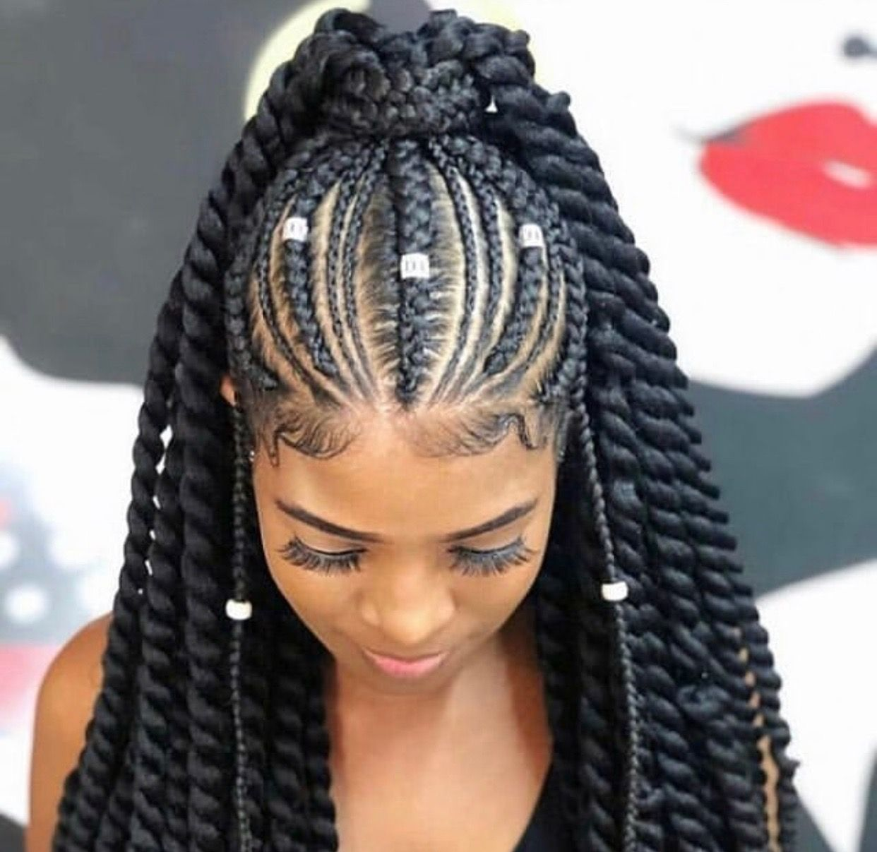Pinterest Trvpin Cornrow Hairstyles African Braids Hairstyles Braided Hairstyles
