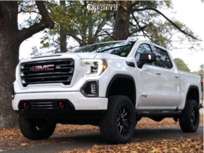 2020 Gmc Sierra 1500 20x9 20mm Fuel Vandal Gmc Trucks Sierra