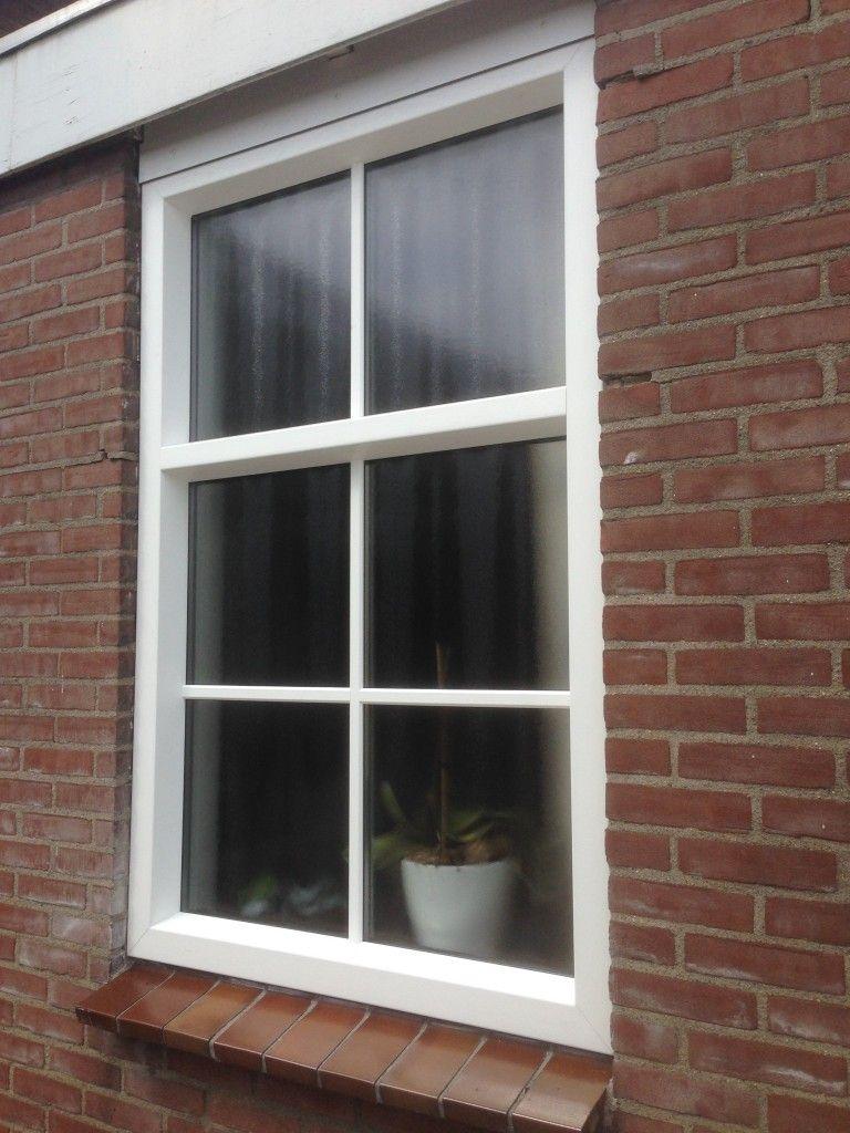 Hedendaags Kunststof kozijn met glas met roeden   Huis, Interieur FF-58
