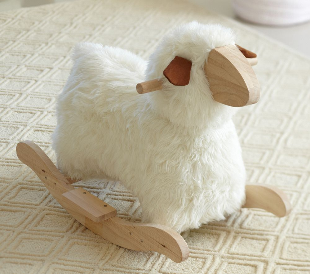 Sheep Rocker From Pottery Barn For The Nursery Pinterest