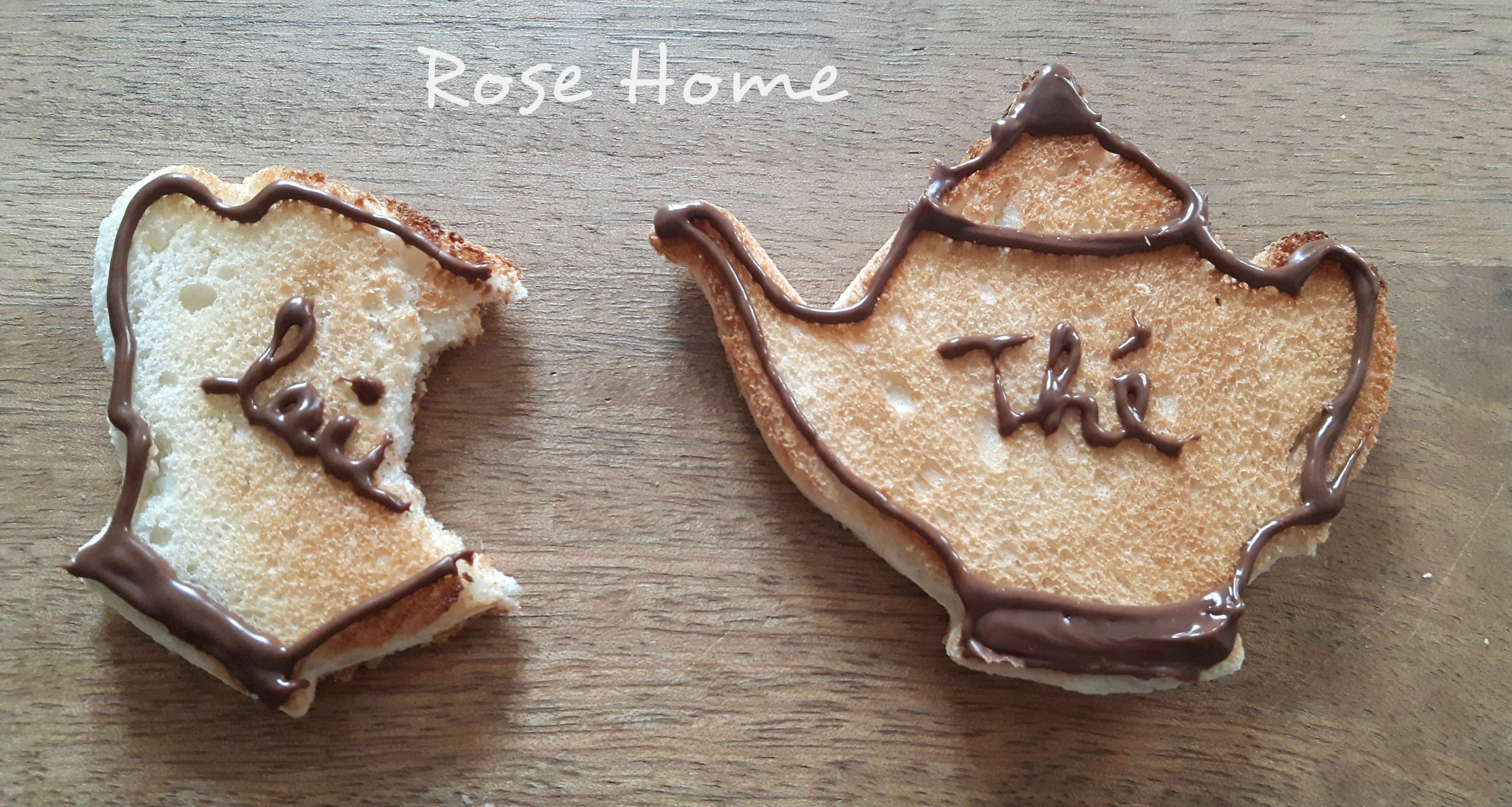Adorables petits Toasts ...