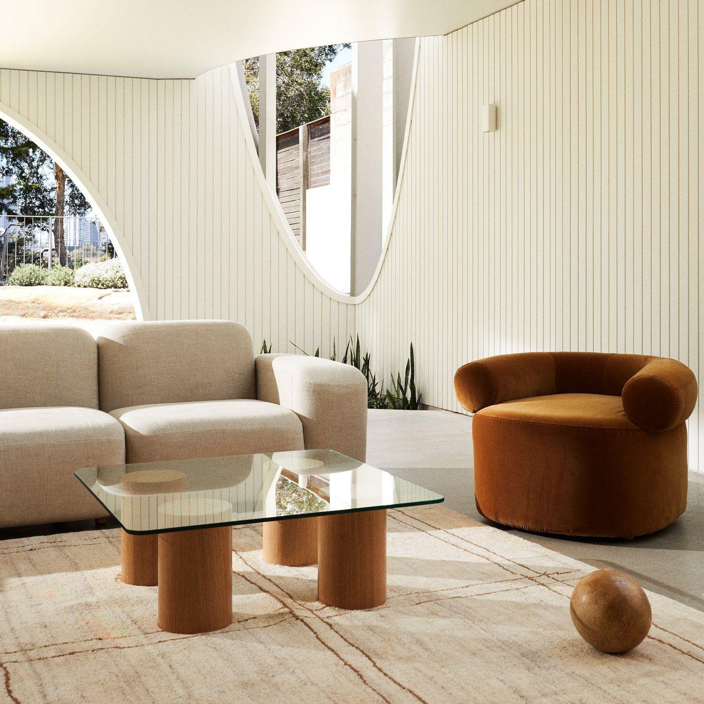 Tide Coffee Table Oak In 2021 Furniture Design Materials Board Interior Design Interior Design Furniture [ 1400 x 1400 Pixel ]