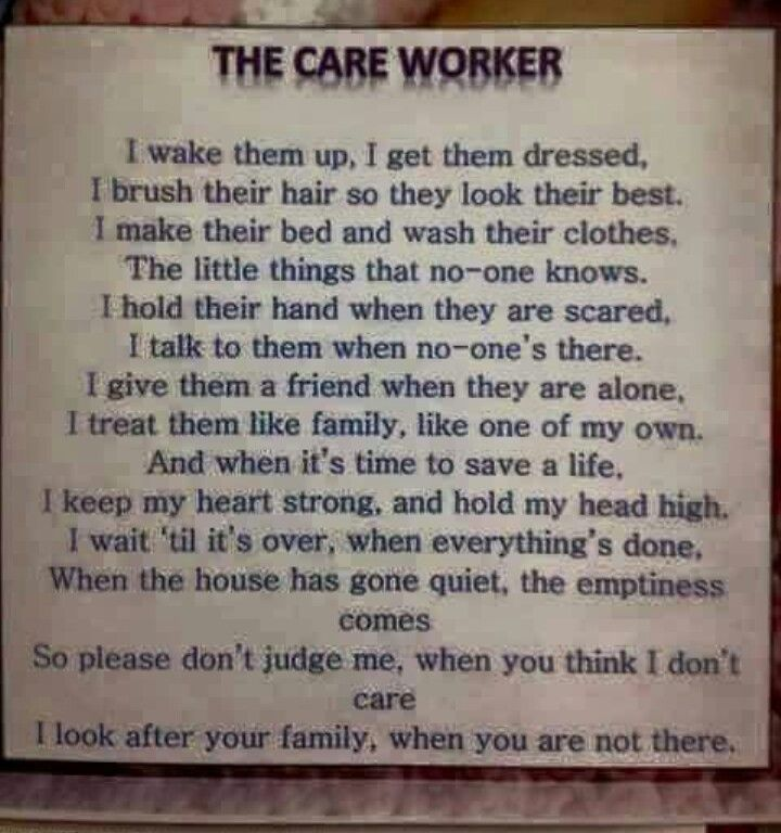 Health care assistant quotes caregiver