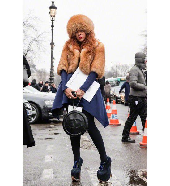 Неделя высокой моды в Париже. Streetstyle. Часть II, Buro 24/7