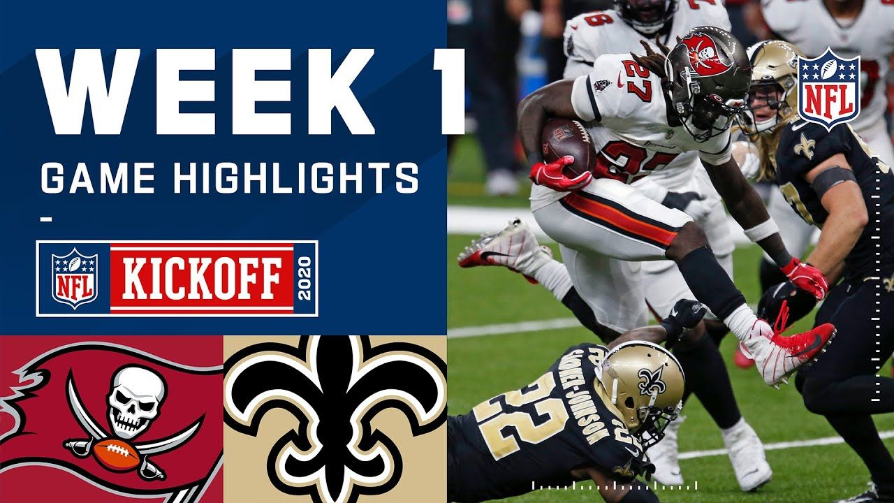Buccaneers Vs Saints Week 1 Highlights Nfl 2020 Youtube In 2020 Nfl Tampa Bay Buccaneers Buccaneers