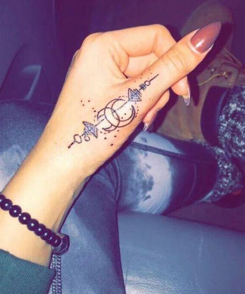 Easy Cute Tattoo Design For Women Liten Tatovering Tatoveringer Tatoveringsideer