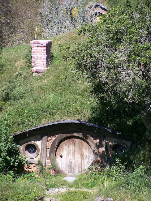 Real Hobbit Hole Homes And Gardens Landscape Nature House