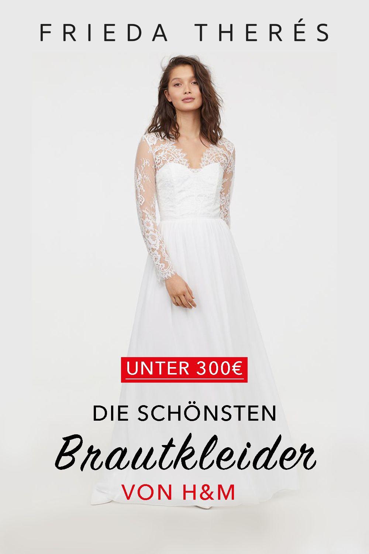 meet 5149b 734bd YES! Die schönsten Brautkleider von H&M | WEDDINGDRESSES ...