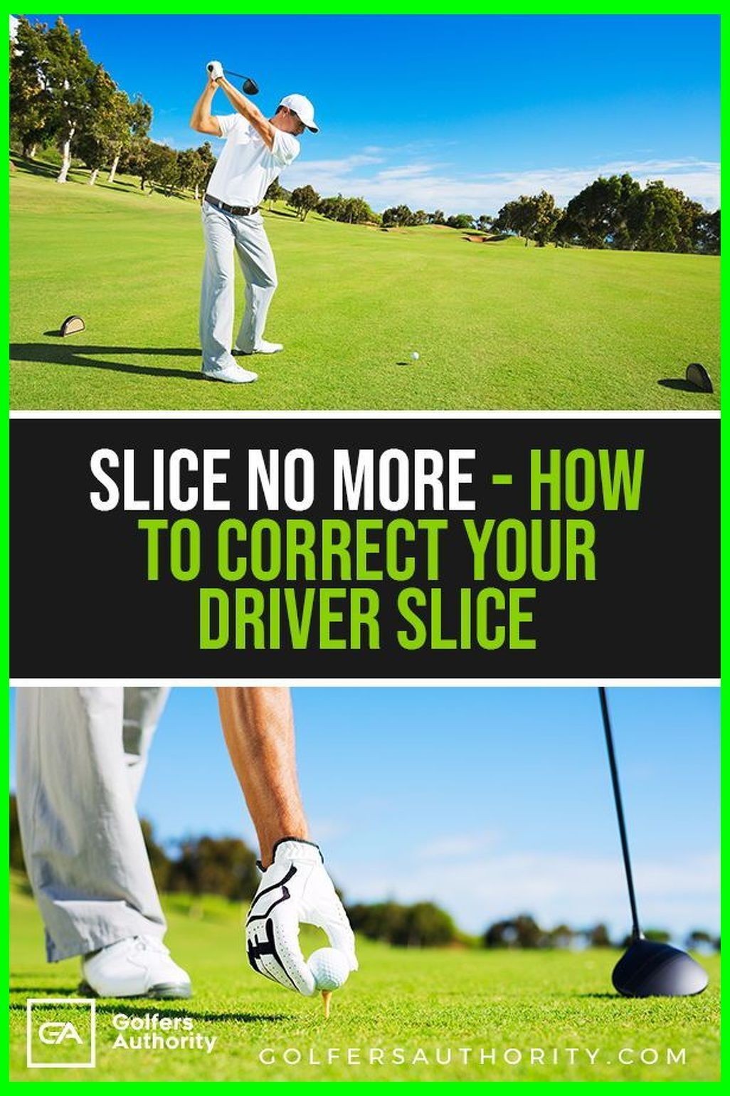 How to fix a golf slice in 3 easy steps with infographic