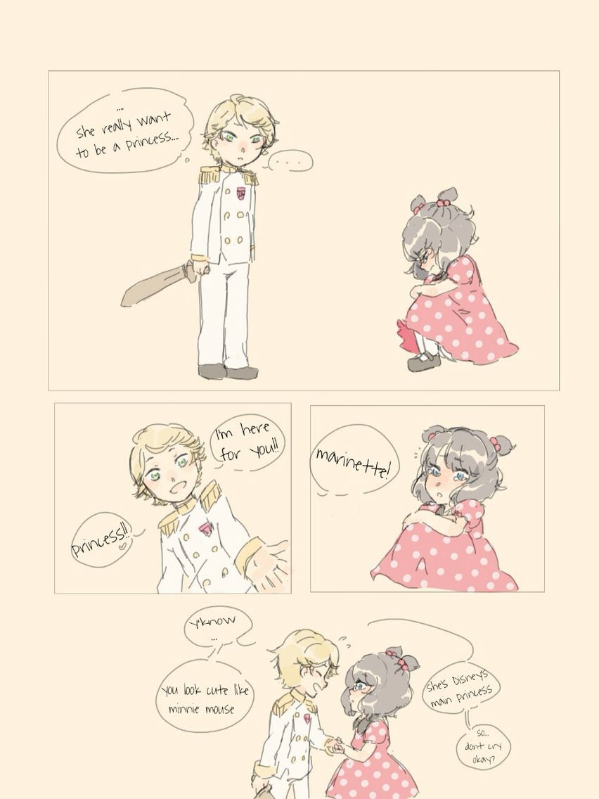 Cute Miraculous Ladybug Comic part:2 ( I don't know the artist who drew this. I just fond it ).