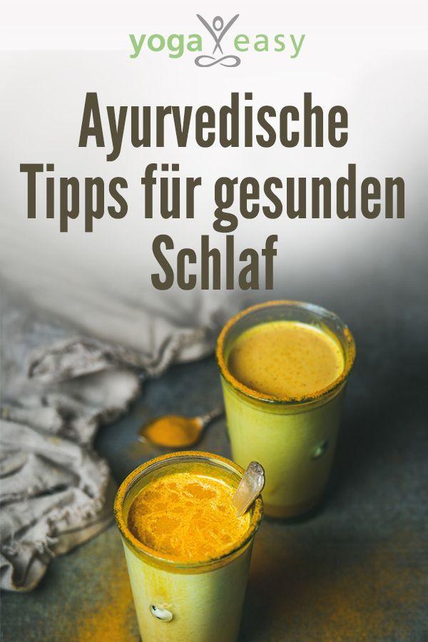 Ayurvedische Tipps für gesunden Schlaf