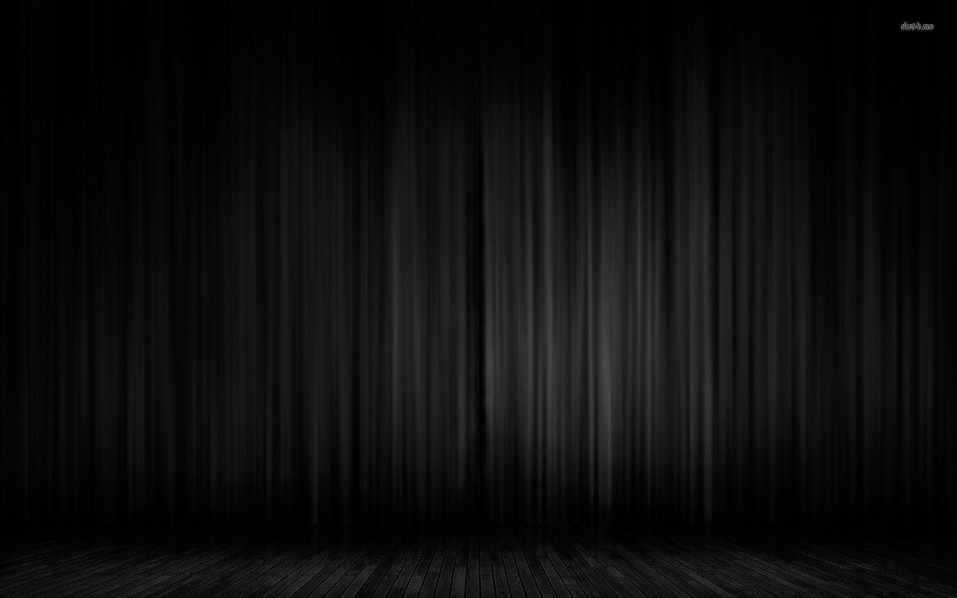 Black Velvet Curtain Absolute Zero Total Blackout Black