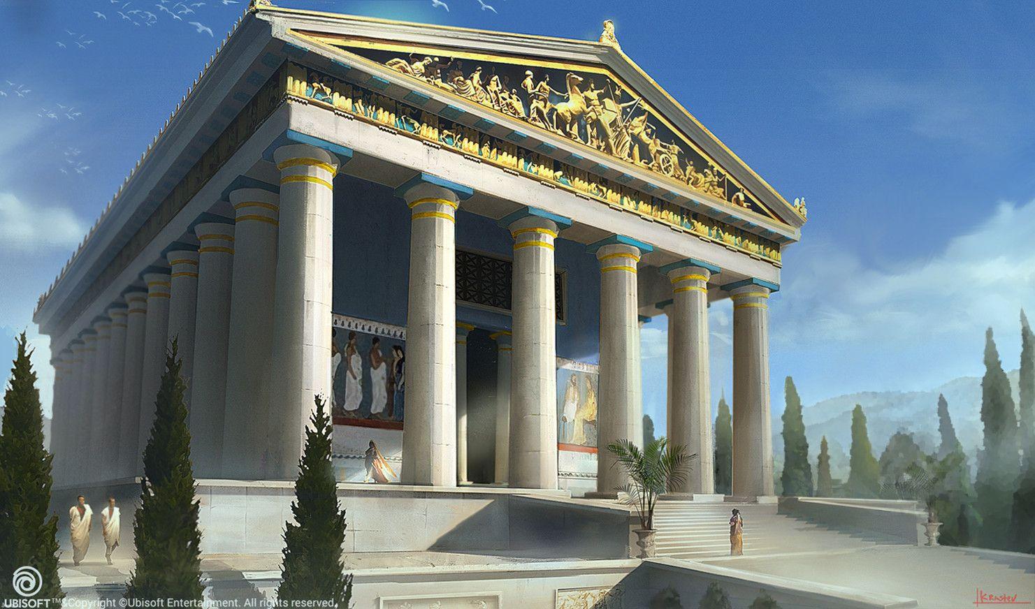 Assassin S Creed Origins Tsvetelin Krastev On Artstation At