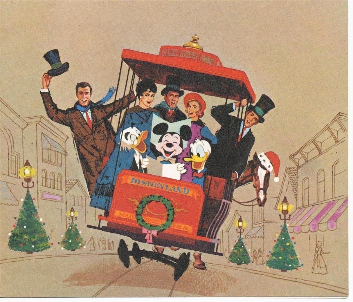 Merry Christmas From Disneyland