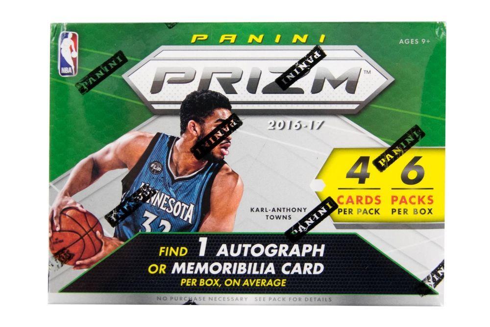 201617 panini prizm basketball 6pack box basketball