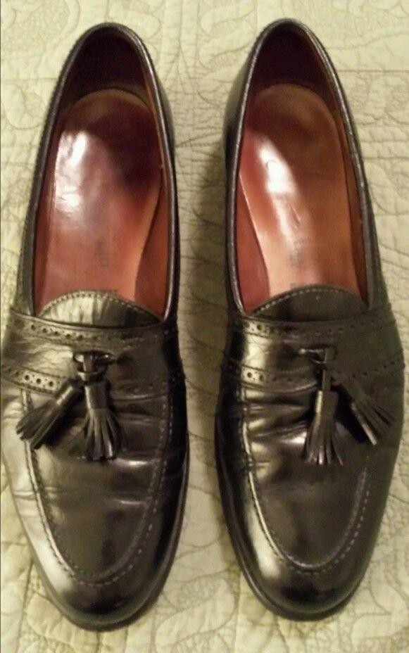 ec69a91502c Allen Edmonds Harvard mens shoes tassels slip on loafers black 13 AAA in  Dress Formal