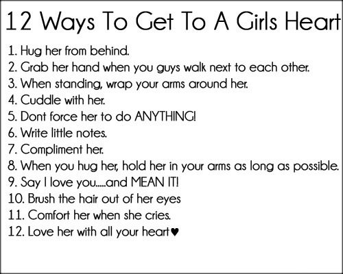 Complements to girls
