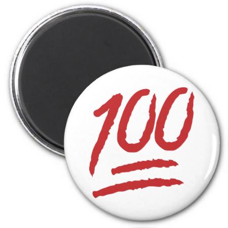Hundred Points Symbol Emoji Emoji