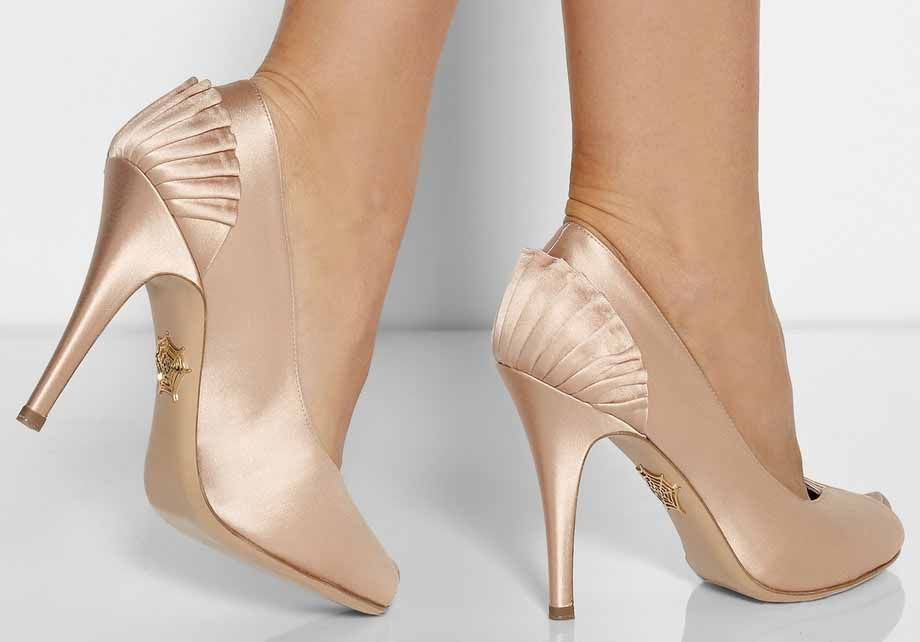 Luxury Bridal Shoes, from Charlotte Olympia Runway Bride, Seriously luxurious with a vintage and art deco design. Bridal shoes, #wedding #bridalfashion #weddingfashion #designerwedding #vintagebride