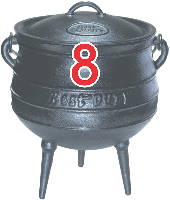 best cast iron stock pot