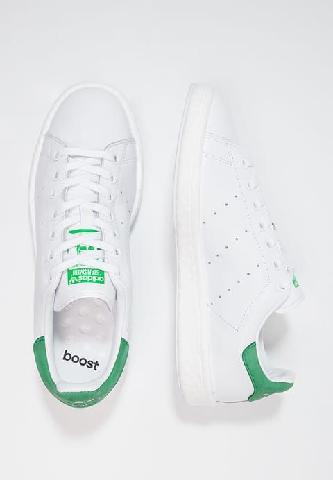 run shoes ever popular sale usa online adidas Originals STAN SMITH BOOST - Trainers - white/green ...