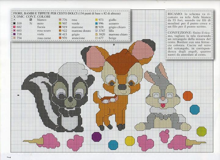 Cutie's - Bambi, Thumper & Flower