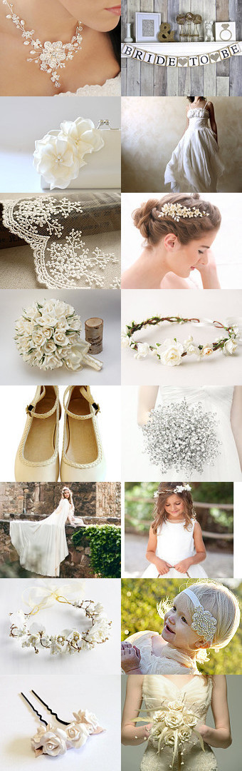 Here Comes the Bride by Linda Karen on Etsy--Pinned+with+TreasuryPin.com