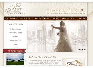 A romantic wedding planning website that is soft and inviting with a a romantic wedding planning website that is soft and inviting with a gorgeous layout junglespirit Choice Image