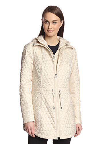 www.myhabit.com  Zip-up jacket with varying quilting, removable inner zip bib with hood, stand collar, curved pockets and zippered cuffs