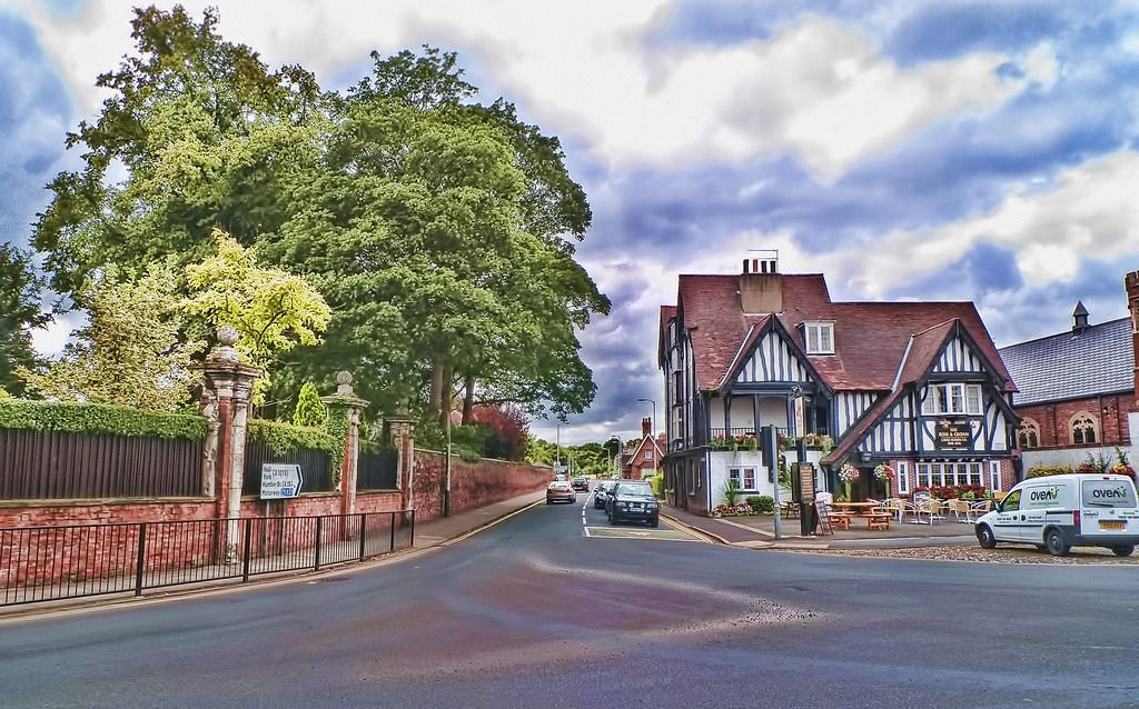 Rose & Crown jigsaw puzzle in Street View puzzles on