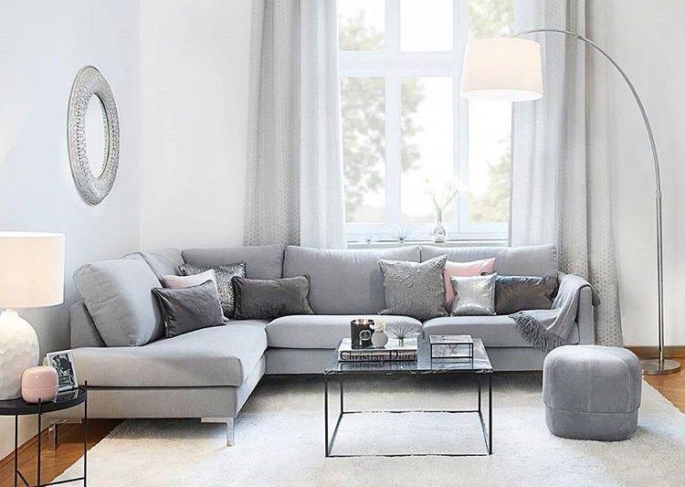 Pin by audrey on furniture Pinterest - Wohnzimmer Design Wandfarbe Grau