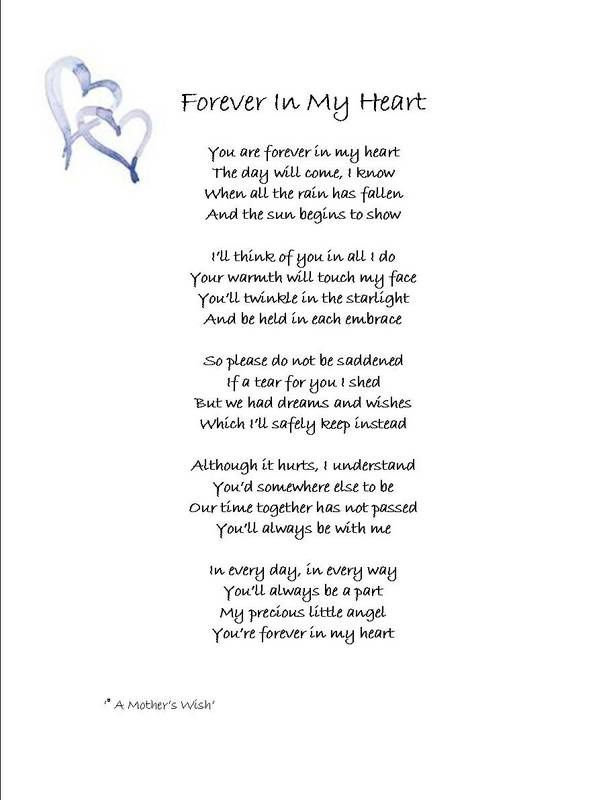 Forever In My Heart Quotes Pinterest Grief Poems Grief And Poems