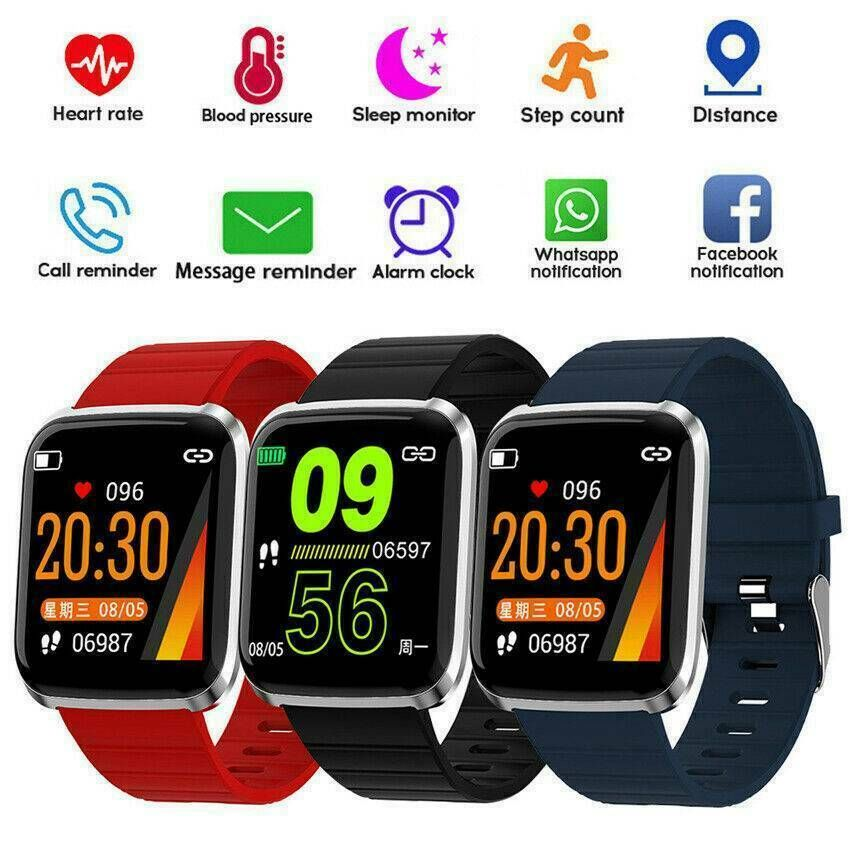 Fitness Smart Watch Activity Tracker Heart Rate For Kids Women Men iOS Android - Fitness Watch - Ide...