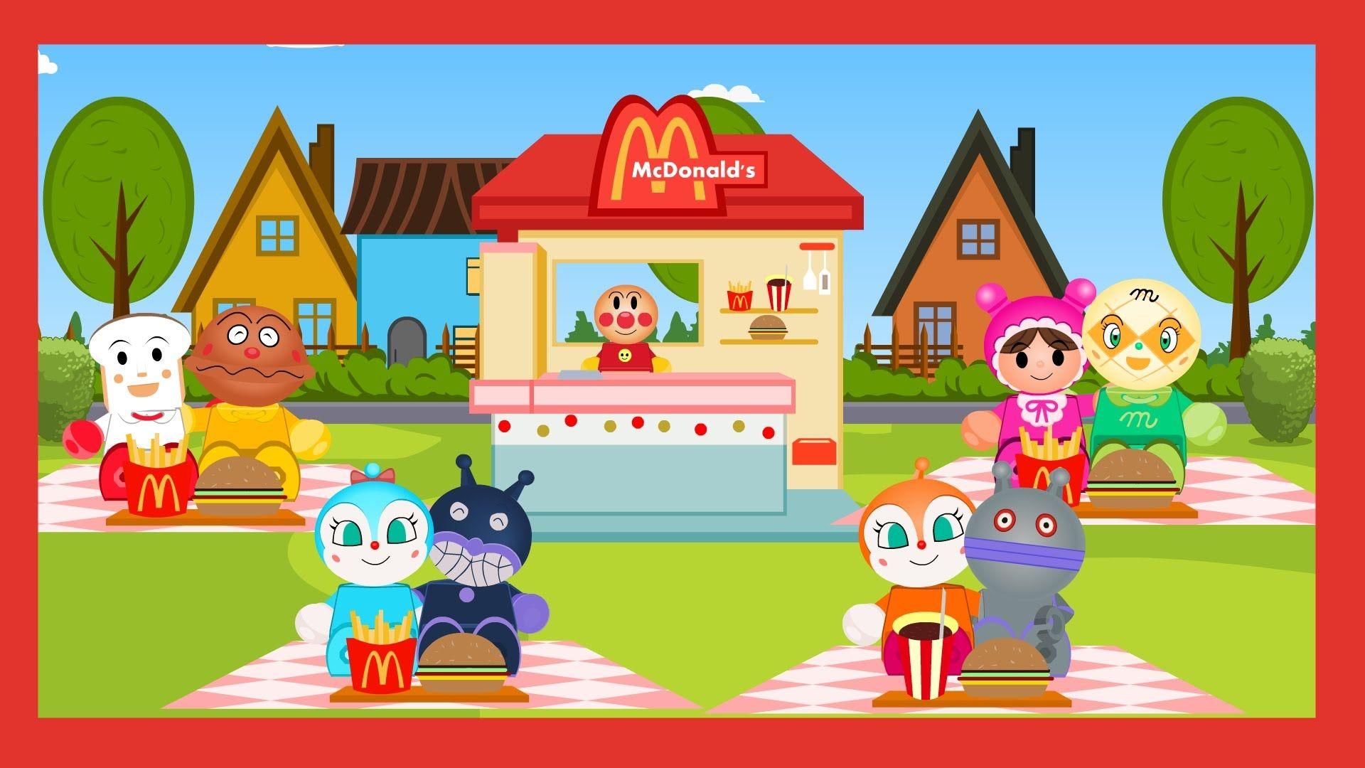 Anpanman Toys Anime Episode 16 Anpanman and Friends Play