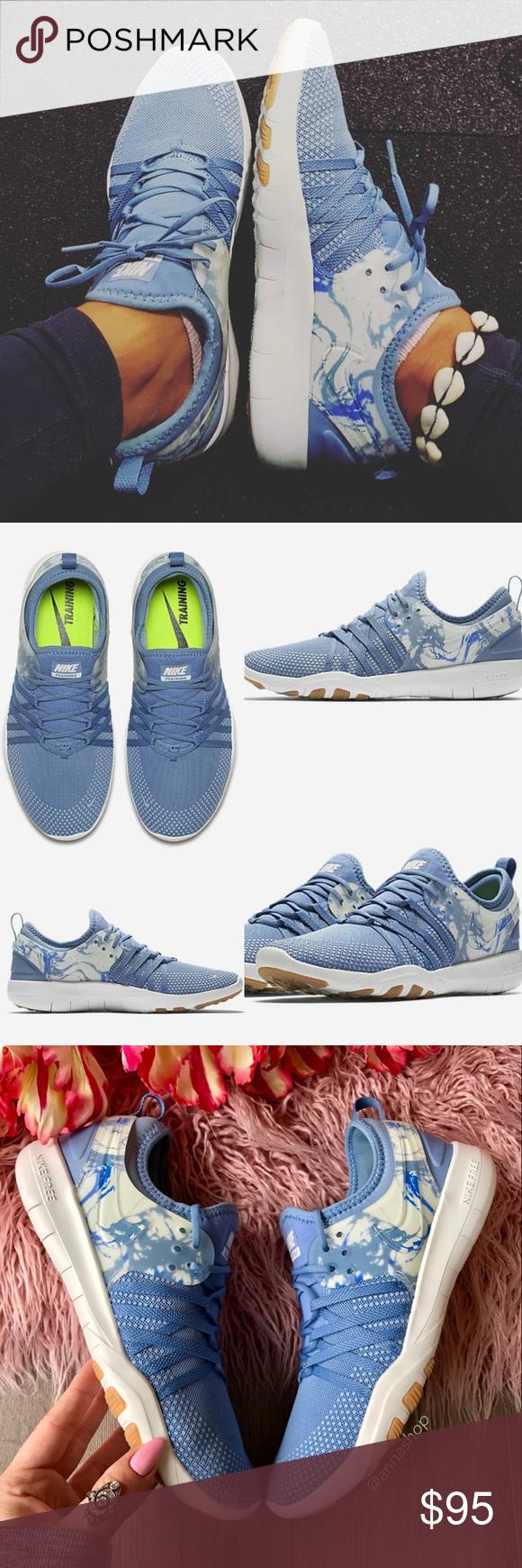 Nwt 7 Nike Free Tr 7 Nwt Azul  d75da0