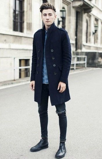 how to wear desert boots with jeans